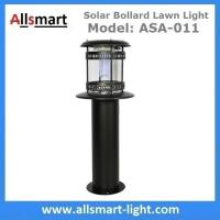 Wholesale 60cm 24Inch Height Black Sensor Westinghouse Solar Bollard Lawn Light Stainless Steel Landscaping Yard Driveway Lamp from china suppliers