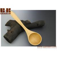 Wholesale Black Cherry Gravy Ladle Handmade Wood Table Utensil Wooden Serving Ladle from china suppliers