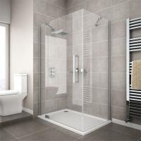 Wholesale china supplier cheap corner compact simple tempered glass shower enclosure from china suppliers