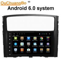 Wholesale Ouchuangbo car radio gps stereo android 6.0 for Mitsubshi Pajero 2014 with SWC USB Mirror-Link bluetooth AUX from china suppliers