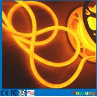 Wholesale 16mm customized LED neon sign 24V 360 degree round led Christmas lights yellow from china suppliers