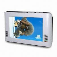 Wholesale 7-inch TFT LCD Analog TV with Built-in Lithium Ion Rechargeable Battery from china suppliers