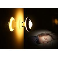 Wireless USB Rechargeable Motion Sensor Led Night Light With Detachable Magnet Base