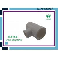 "Wholesale Injection Plastic Irrigation Fittings Equal Tee 1000 lbs Pressure 1 / 2 "" - 8 "" from china suppliers"