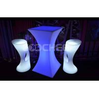 Wholesale Polyethylene Material High Led Bar Table Modern Design Energy Saving from china suppliers
