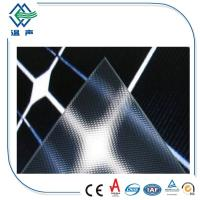 Wholesale High Safety patterned low iron tempered solar panel glass ultra white from china suppliers
