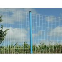 Wholesale euro fence,wavy fence,iron wire euro fence,stainless steel fence,welded fence,galvanized,pvc coated,rectangular hole from china suppliers