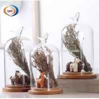 Wholesale Artificial FlowerCreative Glass Dome Cover Animal Glass Cover Home Decoration from china suppliers