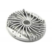 Quality OEM Heat Sink Round Extruded Aluminum Casting Components Thermal Cover for sale