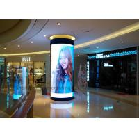 Quality Good View Indoor P3 Custom LED Display Full color Curved Led Sign Module in Shopping Center for sale