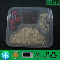 Multi-Compartment Disposable PP Food Container Dinner Plate