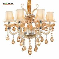 Buy cheap Luxury Crystal chandelier lighting For Living Room lustre sala de jantar cristal Modern Chandeliers Light Fixtures from wholesalers