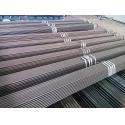 Flat Rectangular Stainless Steel Welded Tube Grade 1.4301 Longitudinally Welded for sale