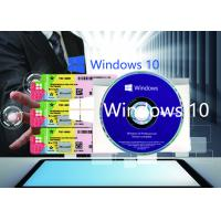 Wholesale Genuine Windows 10 Product Key X20 Online Activate Multi Language COA Sticker from china suppliers