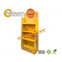 Wholesale Light Duty Paper Shelf Pop Cardboard Display For Products Promotion from china suppliers