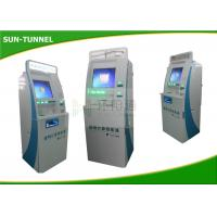 Quality Wireless Module Automated Ticket Kiosk , Water Proof Airline Kiosk Check In Function for sale