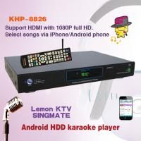 Wholesale Android Lemon KTV jukebox Karaoke player with thousands of popular Songs, install client applications in mobile phone from china suppliers