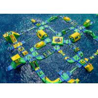 Wholesale Waterproof Inflatable Water Parks , Colorful Water Amusement Park from china suppliers