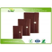 Wholesale Hot Stamping PU Cover Custom Embossed Notebook for Office Stationery ISO9001 from china suppliers