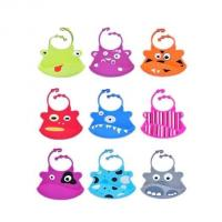 Wholesale cute style silicone baby bib ,colorful silicone baby bibs from china suppliers