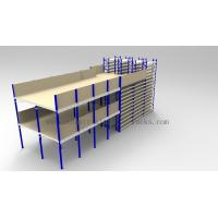 Wholesale Ground + Two Flooring 246FT/7.5M Height Shelving With Mezzanine Floors System from china suppliers