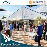 Wholesale Waterproof PVC Coated Exhibition Tents , 600 Seater Outdoor Event Tents from china suppliers