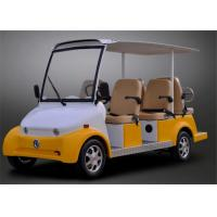 Buy cheap Smart Electric Car 4 Seater Sightseeing Bus With Radio / MP3 Player from wholesalers
