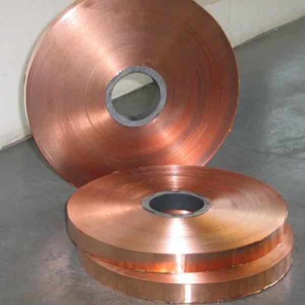 Copper zinc alloy flat metal strips silver plated