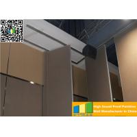 Quality MDF Acoustic Movable Partition Walls Interior Divider For Office / Restaurant for sale