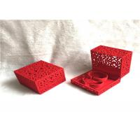 Wholesale Handmade Wooden Jewelry Box For Necklaces , Jewellery Packaging Box Eco Friendly from china suppliers