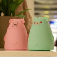 Wholesale Bear Design Ultrasonic Mist Maker Mini Desk USB Humidifier from china suppliers