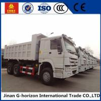 Buy cheap 371hp Lhd Rhd Sinotruk Howo 6*4 Heavy Duty Dump Truck Tipper White Red from wholesalers