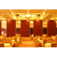 Wholesale Movable Melamine Acoustic Room Dividers for Restaurant 6m Height from china suppliers