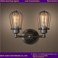 Wholesale 2015 fashion casual Loft wireless 2 lights vitage lighting fixtures wall lamp from china suppliers