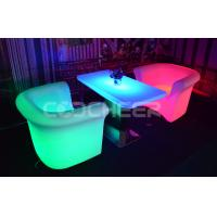 Wholesale Amazing Led Bar Table Fantastic Waterproof glow in the dark furniture Moving from china suppliers