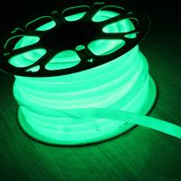 Wholesale 110V 360 degree emitting 16mm round slim led neon flex christmas lights green from china suppliers