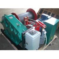 Wholesale 20t single drum electric crane winch for lifting wok together with crane from china suppliers