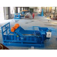 Buy cheap QZS 704 HF linear Shale shaker solids control equipment have AWD angle adjustment system from wholesalers