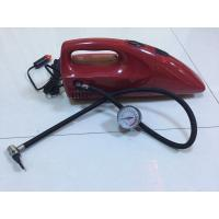 Wholesale 2 In 1 DC 12V Red And Yellow Fancy Portable Car Vacuum Cleaner For Car With Inflation Fuction from china suppliers
