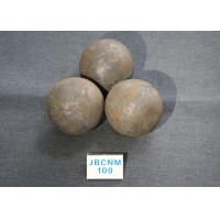 Wholesale 61-62HRC B3 D100MM Grinding Balls For Ball Mill , steel grinding ball High Hardness from china suppliers