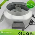 galvanised Sheet Steel Inline Circular Duct Fan Class F Low Noise