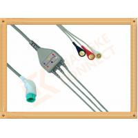 Wholesale Nihon Kohden ECG Patient Cable 11 Pin 3 Leads Snap AHA Insulated Type from china suppliers