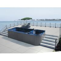 Wholesale Monalisa M-3323 large rectangular swimming pool sexy outdoor swim hot tub villa hotel swim pool SPA outdoor whirlpool from china suppliers