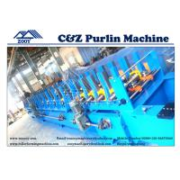 Wholesale Multi Function Cutter C Z Purlin Machine With Hydraulic Cutting from china suppliers