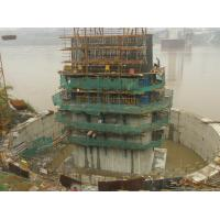 Wholesale Auto climbing form work , shuttering in construction for Low Tower Shuangbei Jialing River Bridge from china suppliers