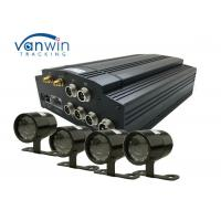 Wholesale Vehicle AHD 4CH HDD SD Mobile DVR With GPS 3G / 4G / WIFI MDVR Car Black Box from china suppliers