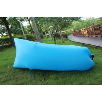 Wholesale Fast inflatable lazy air sleeping bag , compact folding air hangout ultralight from china suppliers