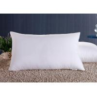Wholesale Polyester Fiber Hotel Standard Comfort Pillows , Hotel Collection Decorative Down Pillows from china suppliers
