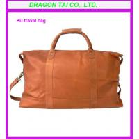 Wholesale Pu leather travel bag, leather shoulder bag, leather luggage bag from china suppliers