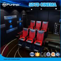 Wholesale Entertaining Mobile 5D Truck 7D Cinema Equipment Customized Projection Screen from china suppliers
